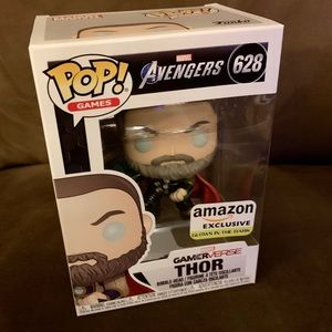 NIB Glow in the Dark Thor Gameverse Funko Pop